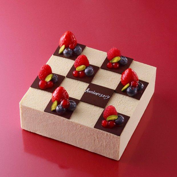 バニラムースケーキ